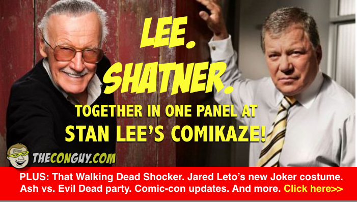 Lee and Shatner