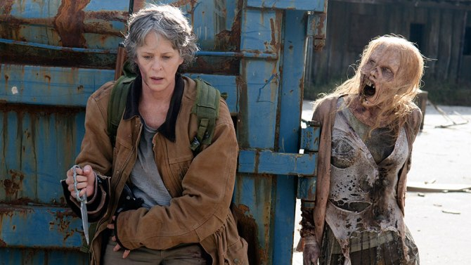 carol and zombie