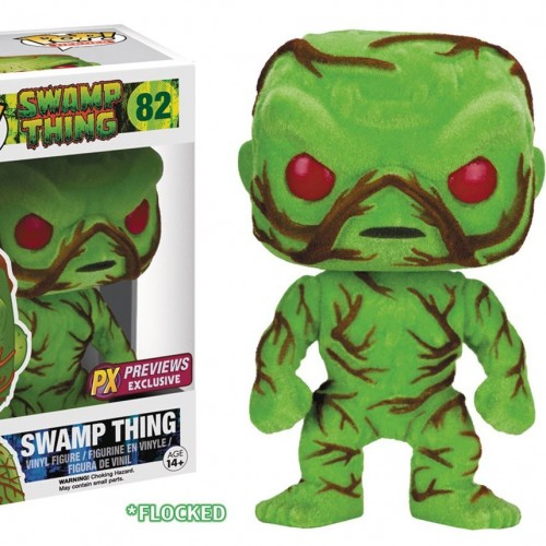 Funko Swamp Thing Scented Flocked Pop!