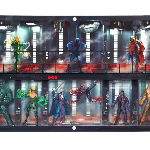 SDCC 2016 Comic Con Exclusive Hasbro Marvel Legends 6″ The Raft Box Set Spider-Man