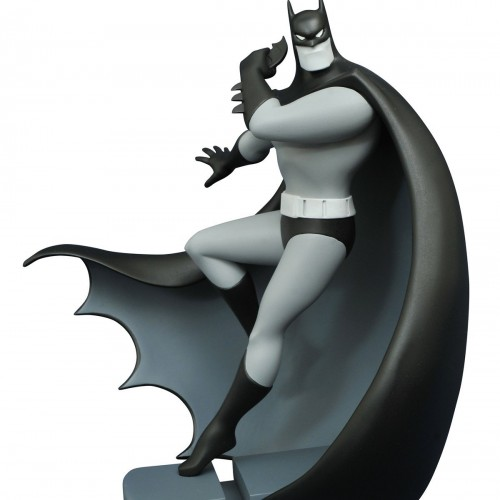 Black and White Almost Got 'Im Batman Figure