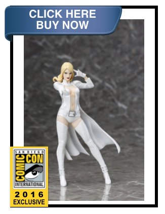 Marvel Now X-Men Emma Frost White Costume ArtFX+ Statue