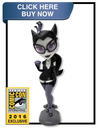 DC Bombshells Catwoman Noir Edition Vinyl Figure