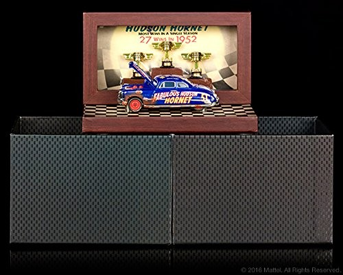 2016 SDCC Comic Con Mattel Exclusive Disney Pixar Cars Precision Series Die-Cast Dirt Track Fabulous Hudson Hornet Vehicle