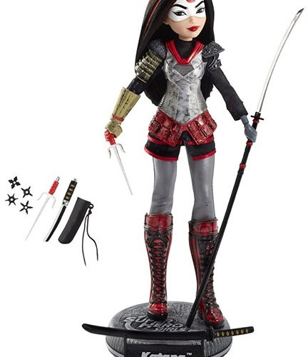 SDCC 2016 Exclusive DC Super Hero Girls Katana Doll