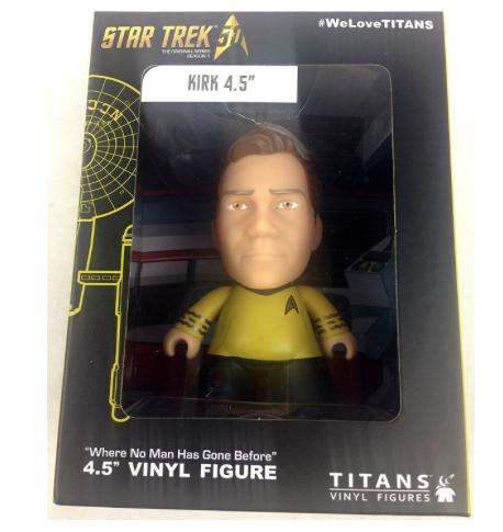Star Trek Captain James T. Kirk Titan Vinyl Figure NYCC 2016 Exclusive 4.5″