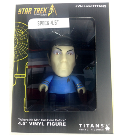 Star Trek Spock Titan Vinyl Figure NYCC 2016 Exclusive 4.5″