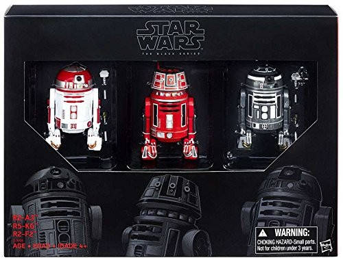 Star Wars Black Series Exclusive 6″ Droids