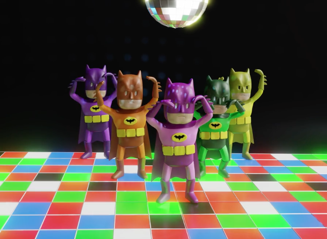 Check Out This Awesome Batman Dance Party Video – The Con Guy on the worm dance, the hippo dance, the dog dance, the orc dance, the bee dance, the hat dance, the crab dance, the duck dance, the bird dance, the tiger dance, the bear dance, the deer dance, the ball dance, the snake dance, the butterfly dance, the pumpkin dance, the rabbit dance, the dolphin dance, the dragon dance, the dagger dance,