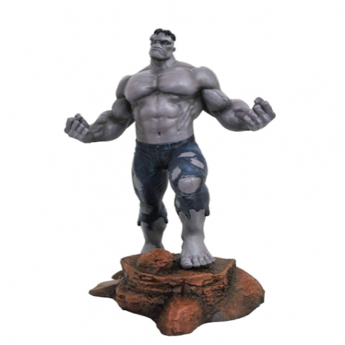 Diamond Select Toys Marvel Gallery Hulk PVC Statue (Variant SDCC 2018 Grey Version)