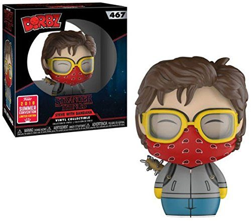 Dorbz! Steve with Bandana Funko Stranger Things #467 SDCC 2018 Summer Convention Exclusive