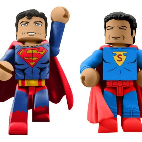 DIAMOND SELECT TOYS San Diego Comic-Con 2018 DC Comics 80th Anniversary Superman Vinimate Box Set