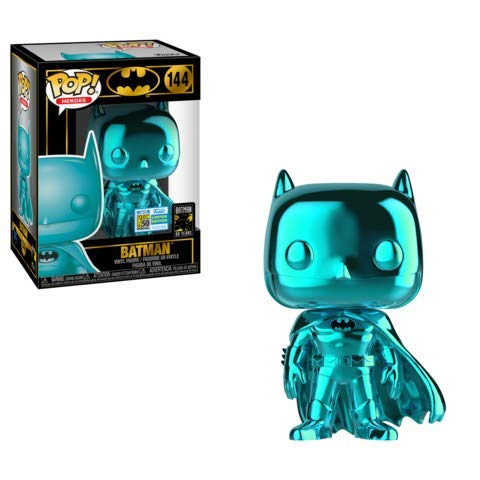 Funko Teal Chrome Batman – 2019 SDCC Exclusive Pop #144