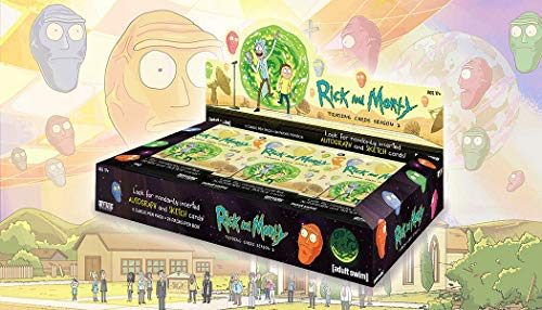 2019 Cryptozoic 'Rick & Morty' Season 2 Trading Card box