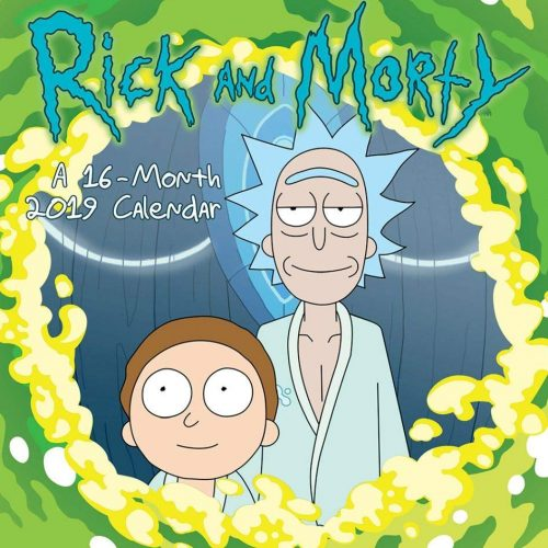 2019 Rick and Morty Mini Calendar