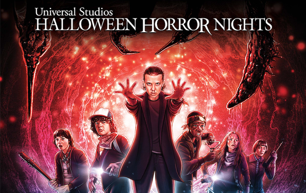 Halloween Horror Nights 2019 Poster.Check Out This New Poster For Stranger Things At Universal